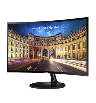 """מסך מחשב קעור 27"""" LED VA ,צבע שחור תוצרת Samsung דגם C27F390FH"""