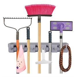 מתקן לאחסון ותליית מגבים, מטאטא, יעה, מגרפה, מטריות ועוד בצורה מסודרת ונוחה מבית ILIKE