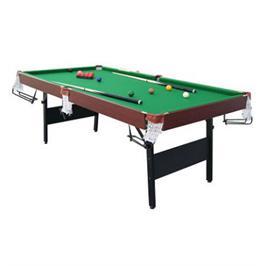 שולחן סנוקר מתקפל 7´ חצי מקצועי מגיע עם מקלות וכדורים מקצועיים מבית Energym Sport דגם B9172