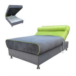מיטה ברוחב וחצי חשמלית הכוללת מזרן קפיצים מבודדים סופר אורטופדי תוצרת ORDESIGN דגם סאנסה + מתנה