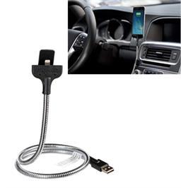 כבל טעינה לרכב עם תושבת למכשירי אפל תוצרת FUSE CHICKEN דגם BOBINE AUTO