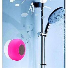 רמקול ודיבורית BLUETOOTH לאמבטיה , לים ולבריכה, לטיולים ולרכב, עמיד בפני מים ולחות דגם BTS06