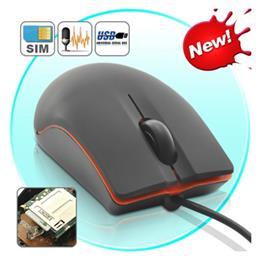 עכבר למחשב + מכשיר ציתות והאזנה SIM מכל מקום בעולם!