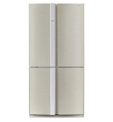 מקרר 4 דלתות בנפח 568 ליטר, קירור היברידי, תוצרת SHARP דגם SJ-R8520