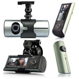 מצלמת דרך דואלית HD עם GPS לניתוח מסלול הנסיעה ו-2 מצלמות תיעוד הנסיעה ופנים הרכב מבית GRANDTEC