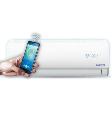 מזגן עילי אינוורטר 10,050BTU עם WIFI מובנה לשליטה מרחוק FamilyLine דגם Inverter Wifi 12