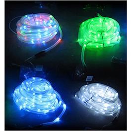 שרשרת 50 נורות LED סולארית, נטענת באור יום ודולקת בלילה, בחיפוי פלסטיק איכותי וגמיש מבית ILIKE