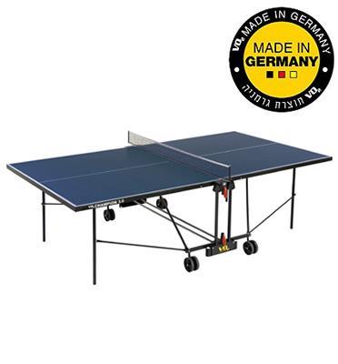 שולחן טניס לאלופים לשימוש חוץ מביתVO2 גרמניה דגם champion3+משלוח+סט מחבטים ושלושה כדורים+הרכבה!