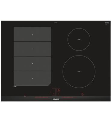 """כיריים אינדוקציה 4 איזורי בישול עם Flex Zone ברוחב 70 ס""""מ תוצרת SIEMENS דגם EX775LEC1E"""