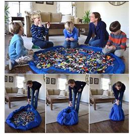 גאוני! משטח פעילות לילדים שהופך לשק איסוף לכל הצעצועים והבאלגן בהנפת יד וללא מאמץ! מבית ILIKE