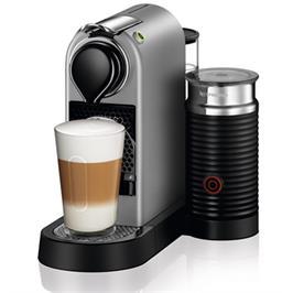 מכונת קפה Nespresso דגם סיטיז אנד מילק בצבע כסוף דגם C122