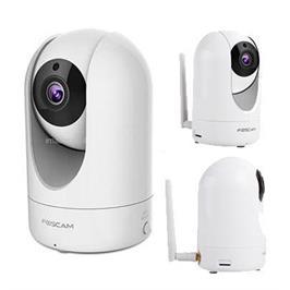 מצלמת אבטחה IP אלחוטית P2P FULL HD ממונעת ראיית לילה FOSCAM R2 דגם HD 1080P