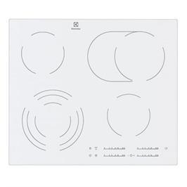 כיריים קרמיות TOUCH צבע לבן תוצרת Electrolux דגם EHF6547IW1