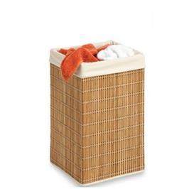 סל כביסה מרובע עשוי מבמבוק מבית honey can do דגם 01620