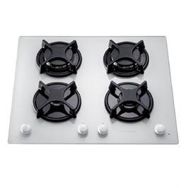 כיריים גז על משטח זכוכית ROSIERES דגם RTV640 בצבע לבן