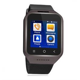 שעון יד חכם עם טלפון סלולרי GSM SIM, מצלמה צבעונית, שיחות ישירות ועוד מבית GRANDTEC דגם 444515