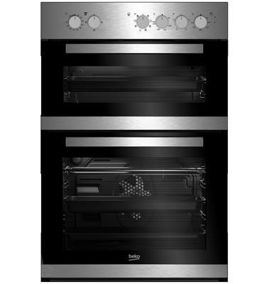 """תנור אפיה בנוי דו תאי מהדרין בהשגחת הבד""""ץ Multi function גימור נירוסטה מבית BEKO דגם BKDM22100X"""