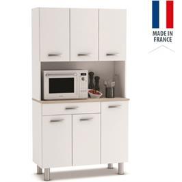 ארון שירות למטבח עם תא למיקרוגל תוצרת צרפת HOME DECOR דגם פסטה