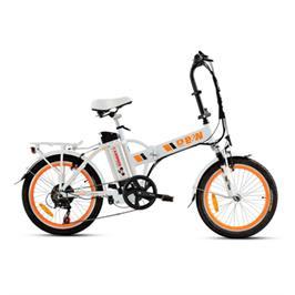 אופניים חשמליים מנוע 250 וואט איכותי ללא פחמים סוללה 10 אמפר מבית B&W דגם B1 +מנעול ומתקן לנייד