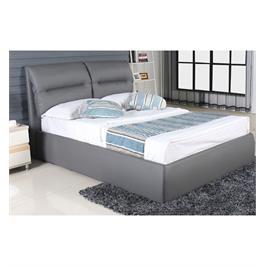 מיטה זוגית אלגנטית עם ארגז מצעים מרווח וקל לתפעול מבית Vitorio Divani דגם ליאנדרה
