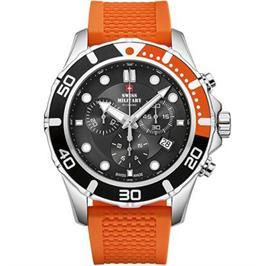 שעון יד כרונוגרף לגבר עשוי פלדת אל חלד תוצרת SWISS MILITARY שוויץ דגם SM3404405