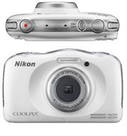 מצלמה דיגיטלית קומפקטית העמידה למים 13.2MP מבית NIKON דגם COOLPIX W100 - אחריות יבואן רשמי!