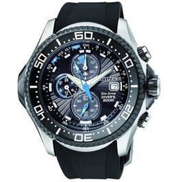 שעון צלילה סולארי עד 200M לגבר ללא צורך בסוללה עם מד עומק מבית CITIZEN דגם CI-BJ211108E