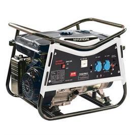 גנרטור מקצועי בעוצמה אדירה של 2600W! מנוע בנזין 4 פעימות מיצב מתח AVR מבית HYUNDAI דגם HD-2600