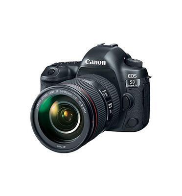"""מצלמת רפלקס גוף בלבד 30MP מסך 3"""" תוצרת CANON דגם EOS 5D Mark IV - אחריות יבואן רשמי!"""