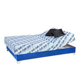 מיטה וחצי אורטופדית בד יוקרתי מזרון פוליניב ראש מתכוונן וארגז מצעים מבית RAM DESIGN דגם ג'ואנה