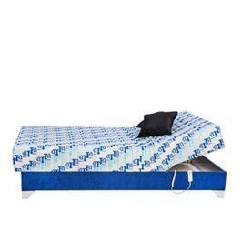 מיטת נוער יחיד חשמלית אורטופדית הכוללת בד יוקרתי מעוצב ומזרון פוליניב מבית RAM DESIGN דגם ננסי