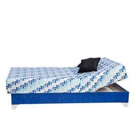 מיטת נוער יחיד אורטופדית בד יוקרתי מזרון פוליניב ראש מתכוונן וארגז מבית RAM DESIGN דגם רוסריו