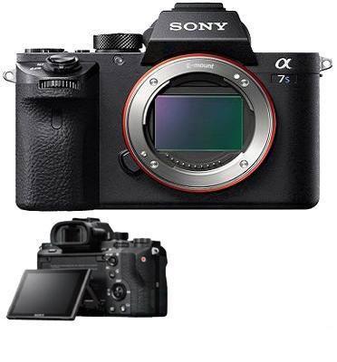 """מצלמה ללא מראה מ""""מFull Frame 35 וידאו 4K מסדרת אלפה  מבית SONY דגם ILC-E7SM2B-אחריות יבואן רשמי"""