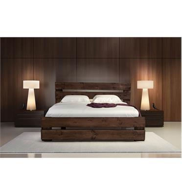 מיטה זוגית כפרית מעץ אורן מלא מבית אולימפיה+ מזרן קפיצים אורתופדי והובלה והרכבה בחינם!