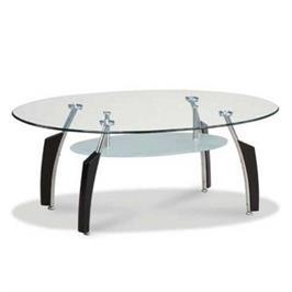 שולחן סלון בעיצוב צעיר ומיוחד מסדרת רהיטי הזכוכית מבית HOMAX דגם לאציו