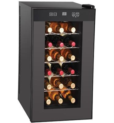 מקרר יין לאחסון 18 בקבוקים.תוצרת LANDERS דגם BCW50