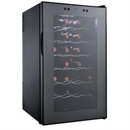 מקרר יין לאחסון עד 28 בקבוקים תוצרת LANDERS דגם Bcw70