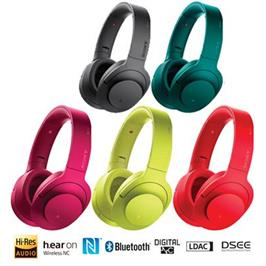 אוזניות דינמיות מרופדות BT, NFC מיקרופון מובנה ושליטה מלאה בנייד מבית SONY דגם MDR-100ABN