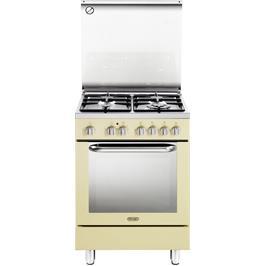 תנור חשמלי רב תכליתי 8 תוכניות משולב כיריים 4 להבות תוצרת Delonghi דגם NDS577VN בצבע וניל