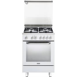 תנור חשמלי רב תכליתי 8 תוכניות משולב כיריים 4 להבות תוצרת Delonghi דגם NDS577W בצבע לבן