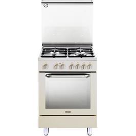 תנור חשמלי רב תכליתי 8 תוכניות משולב כיריים 4 להבות תוצרת Delonghi דגם NDS577AV בצבע אבן חול