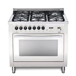 """תנור משולב כיריים ברוחב 90 ס""""מ בנפח 94 ליטר בצבע לבן תוצרת LOFRA דגם CSBG96MFT COOL"""