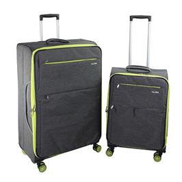 סט מזוודות בד 2 יח' 30 | 23 | אינטש רחבים וקלים במיוחד! מבית Calpaks דגם TORONTO
