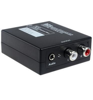מתאם ממיר מחיבור דיגיטלי אופטי לאנלוגי Digital to Analog Audio Converter מבית MATRIX