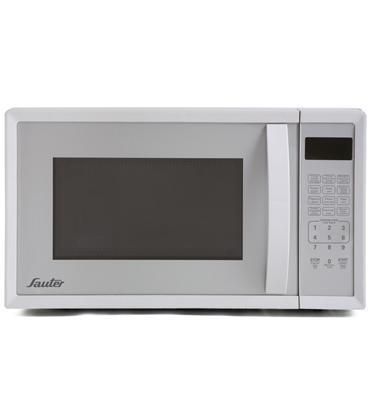 מיקרוגל דיגיטלי לבן 20 ליטר פאנל עברית/אנגלית תוצרת SAUTER דגם MW-440W