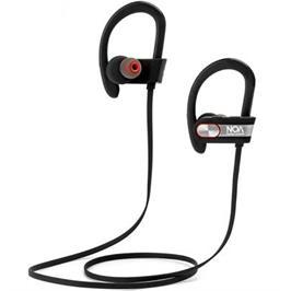 אוזניות בלוטוס ספורט יעודיות לריצה מיקרופון מובנה איכותי כפתורי תפעול נוחים מבית NOA דגם ACTIVE