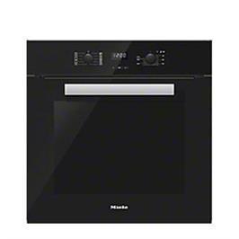 תנור אפיה בנוי בנפח 76 ליטר תצוגת LCD מסדרת הPure line מבית Miele גימור שחור דגם H2661B-BLACK