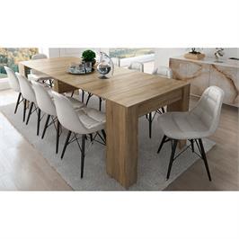 שולחן מודולרי נפתח ל- 3 מטרים מבית BRADEX דגם DOMINIC