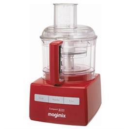 מעבד מזון עם מנוע אינדוקציה תעשייתי 700 וואט תוצרת Magimix דגם C-3200 בגימור אדום