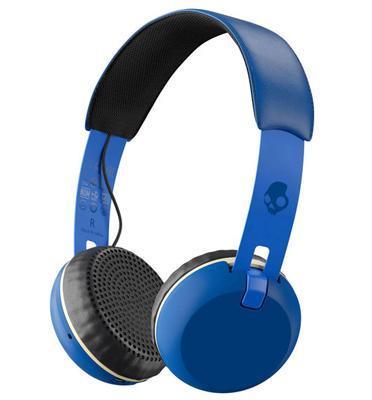 אוזניות אלחוטיות עם טכנולוגית Bluetooth® מיקרופון מובנה מבית Skullcandy דגם Grind Wireless
